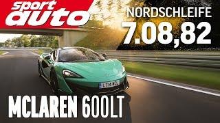 Download McLaren 600LT 7.08,82 min HOT LAP Nordschleife Supertest sport auto Video