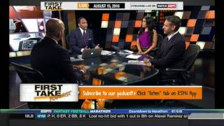 Download ESPN FIRST TAKE 8 15 2016 RAMS REPORTEDLY WORKING TO EXTEND COACH JEFF FISHER AND GM LES SNEAD Video