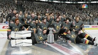 Download NHL 18 - Vegas Golden Knights Stanley Cup Celebration Video