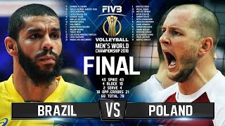Download Brazil vs. Poland | FINAL | Mens World Championship 2018 Video