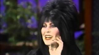 Download Elvira visits Alan Thicke 1983 Video
