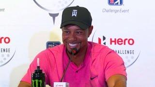 Download Tiger Woods talks equipment before Hero World Challenge Video