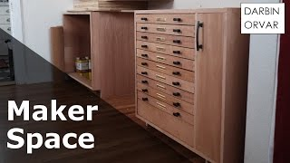 Download Cabinet w/ Dovetail & Secret Drawers - #MakerSpace Part 3 Video
