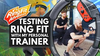 Download Testing RING FIT ADVENTURE w/ My Personal Trainer Video