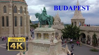 Download Budapest (Hungary) is one of the most beautiful cities in Europe - the pearl of the Danube - 4K Video