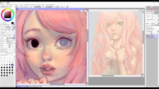 Download Speedpaint (Paint Tool SAI)Winnie Video