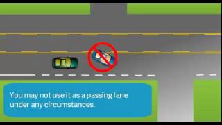 Download Center Left Turn Lane Video