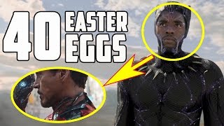 Download Black Panther - All the Easter Eggs and Secrets Video