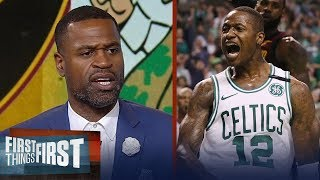 Download Stephen Jackson on how Boston Celtics dominated LeBron's Cavs in Game 2 | NBA | FIRST THINGS FIRST Video