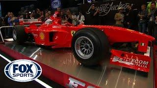 Download Michael Schumacher's Test 1998 Ferarri F300 Sold at Barrett-Jackson Scottsdale Video