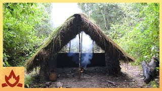 Download Primitive Technology: Grass thatch, Mud hut Video