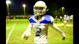 Download FOOTBALL INTERCEPTION with a CAST & BROKEN ARM?! Pick 6 & Sacks!! Birthday Announcement! Video