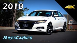 Download 2018 Honda Accord Sport - Ultimate In-Depth Look in 4K Video
