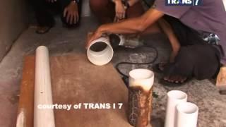 Download Redaksi Pagi Trans7 - Sentuhan Artistik Paralon Bekas Menjadi Perkakas Mahal Video