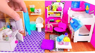 Download 5 DIY Miniature Dollhouse Rooms Video