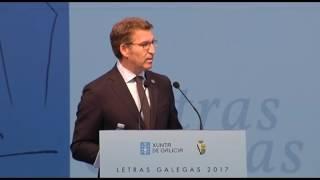 Download Intervención do presidente da Xunta con motivo do Día das Letras Galegas 2017 Video