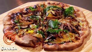 Download Mystery Box Reveals An Artisan Pizza Challenge | MasterChef Canada | MasterChef World Video