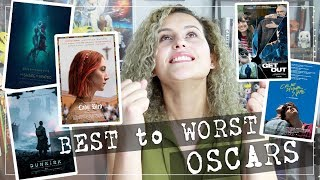 Download Best to Worst! RANKING the Best Picture Oscars Movies 2018 Video