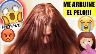 Download ME QUEDO EL CABELLO NARANJA!!! :( ♥BeautybyNena Video