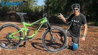 Download Giant Reign Advanced 1 2018 Test ride & Review! Video