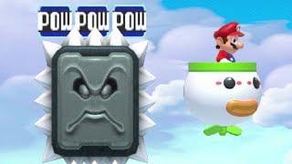 Super Mario Maker - 100 Mario Challenge #187 (Expert Difficulty