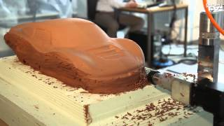 Download Automotive Clay Design Process Video