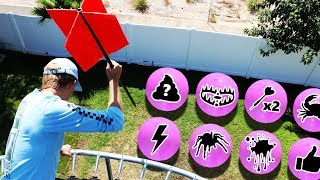 Download GIANT Dart vs Secret Mystery Balloons!! (DONT Pick the Wrong Balloon) Video
