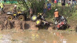 Download ATVs in small river | Rugaji Video