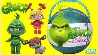 Download Dr. Suess THE GRINCH LOL Surprise Customs Help Rescue Cindy Lou & Max the Dog Toys Video