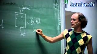 Download Gastvortrag an der TU München Olaf Schubert malt Haitech Microsoft youtube original Video