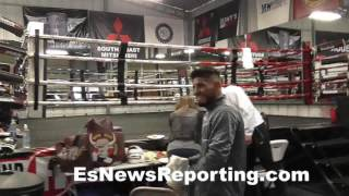 Download Speedy Mares , Josesito Lopez and Robert Garcia - EsNews Boxing Video