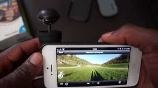 Download BubbleScope iPhone Camera Attachment, Take 360 Picture or Videos in one shot Video