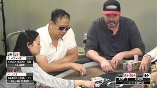 Download Super Aggro Vaz Flops 2 Pair with T5 vs Wayne Chiang!! ♠ Live at the Bike! Video