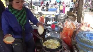Download Darjeeling Street Food   India Street Food   Bread Omelet   Look How Young Lady Selling Fast Video