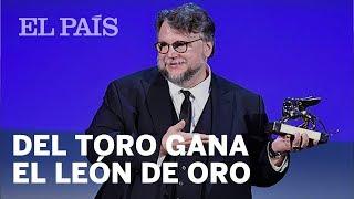 Download 'La forma del agua', de Guillermo del Toro, gana el León de Oro del festival de Venecia Video