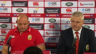 Download REACTION: British & Irish Lions press conference Video