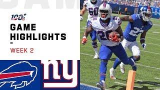 Download Bills vs. Giants Week 2 Highlights | NFL 2019 Video