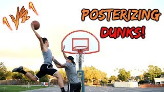 Download THE MOST EPIC 1v1 EVER!! POSTERIZING DUNKS ONLY!! Video
