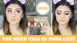 Download NEW TARTE CLAY PLAY FACE SCULPTING PALETTE   1ST IMPRESSIONS MAKEUP TUTORIAL Video