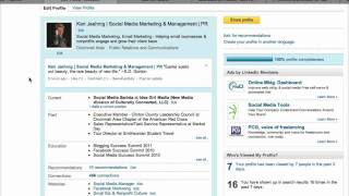 Download Customize Your Website Addresses On LinkedIn! Video