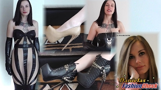 Download Danielas FashionCheck #043: Pumps, Booties, Kleid, Jumpsuit und mehr... (High-Heels) - Part I Video