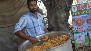Download Indian Muslim CHICKEN BIRYANI Prepared for 100 People & STREET FOOD Video