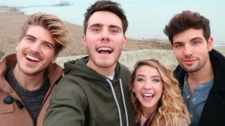 Download BRITISH VS AMERICAN YOUTUBERS Video