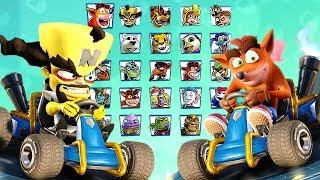 Download Crash Team Racing Nitro-Fueled All Characters + Penta Penguin (Secret Character) Video