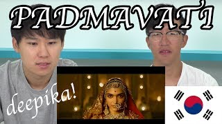 Download PADMAVATI | Deepika Padukone | Shahid Kapoor | Ranveer Singh | Trailer Korean(코리안) Reaction Video