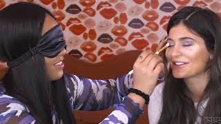 Download Blindfolded Makeup Challenge | Jordyn Does Kylie's Makeup While Blindfolded Video