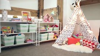 Download Target Pillowfort Playroom Makeover Video