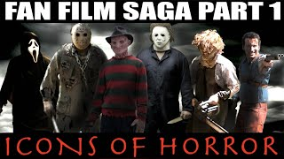 Download Freddy Jason Michael Leatherface vs Ash Williams vs Ghostface ICONS OF HORROR Horror full movie HD Video