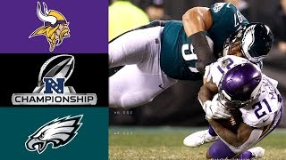 Download Vikings vs. Eagles | NFL NFC Championship Game Highlights Video