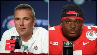 Download Ohio State's Urban Meyer, Dwayne Haskins 2019 Rose Bowl postgame press conference | College Football Video